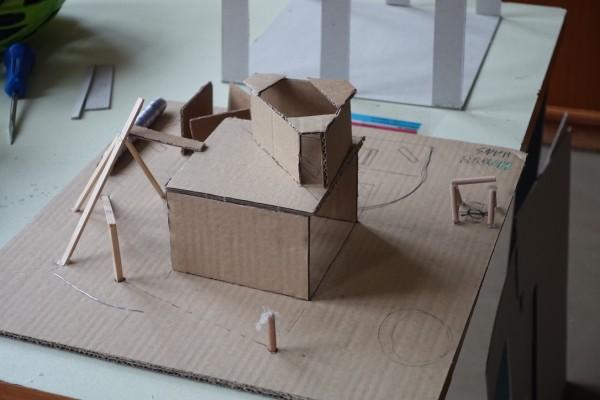 Werkstatt Freiraum Spielraum Bauraum - Modell_1